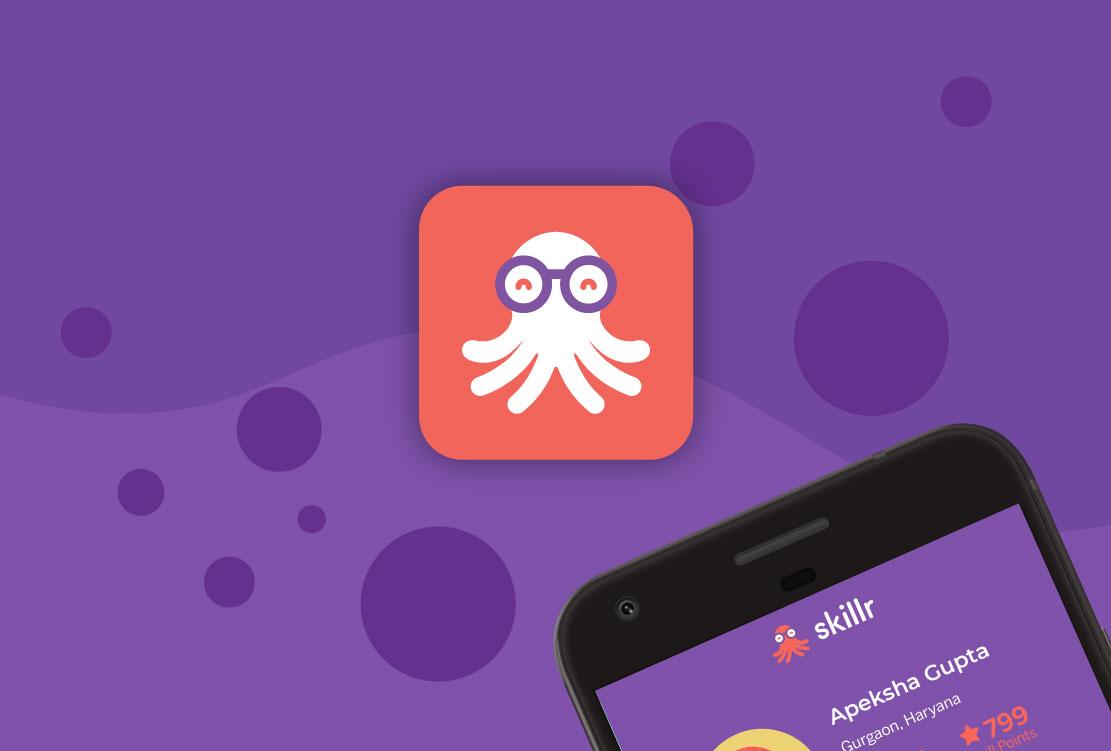 App Branding and Mascot for Skillr